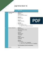 PMR English Language New Format 2012