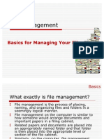 File Management Ppt