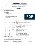 100WPA Assembly Install Kit