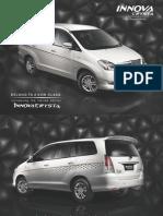 Toyota Innova Crysta Brochure