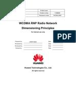 WCDMA RNP Radio Network Dimension Ing Huawei