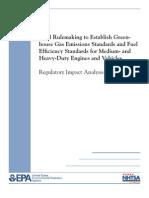 EPA Final Regulatory Impact Analysis - Medium and Heavy Trucks