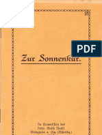 Neu-Salems-Schriften Nr. 57 Zur Sonnenkur