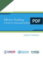 Effective Teaching Facilitator