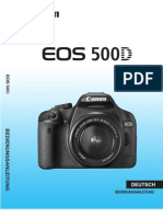Canon 500d Manual