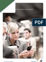 C050 AUG11 Mobile Solutions Business (Mobile Advantage Brochure)