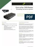 Controller CAN Nodes