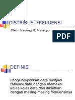 Statistika 2 Tabel Distribusi Frekuensi