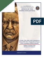 OPM OIG Study of USPS OIG Proposals Feb 28 2011