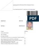 Common Written Examination for Recruitment of Probationary Officers Rishi