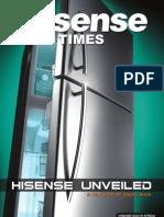 Hisense Times Aug 2011