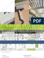 What We'Ve Learned About Learning, Draft