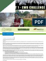 2011 EWB Challenge Design Brief