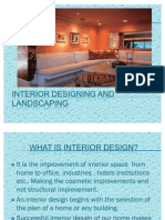 Interior Designing and Landscaping
