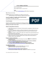 UT Dallas Syllabus for psy3393.501.11f taught by Richard Golden (golden)