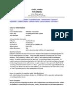 UT Dallas Syllabus for acct6343.0g1.11f taught by Jennifer Johnson (jxj091000)