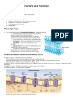 (Notes)Cell Membrane
