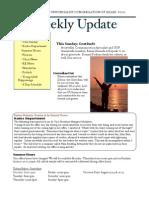 Weekly Update 2011.11.8