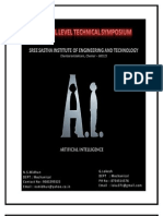 Nation Level Technical Symposium - Sree Sastha Engg College - Chennai. (1)