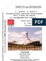 Prospecto Exposiciones CCB Septiembre 2011
