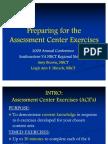 Assessment Center Exercises 2009