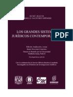 Los Grandes Sistemas Juridicos Contemporaneos - Rene David