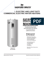 Water Heater Service Manual