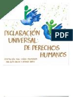 Declaración Universal de los Derechos Humanos Adaptada Para Niños