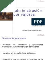 Admin is Trac Ion Por Valores. Presentacion