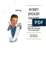 Money Broker Packet for 2011