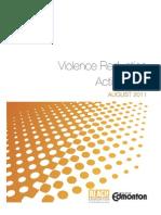 Violence Reduction Plan Aug 2011