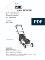 Caftsman Lawnmower Manual 917_377781