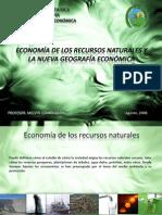 Economia de Los Recursos Naturales y La Nueva Geografía Económica