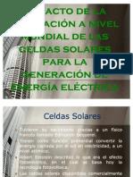 Impacto Celdas solares