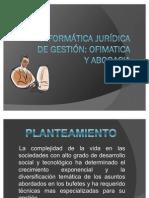 INFORMÁTICA JURÍDICA DE GESTIÓN I