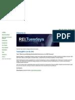 REI.Tuesdays Workspace Screenshot
