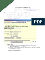 Instructivo Para Actualizar Licencia Capataz - Hechicero