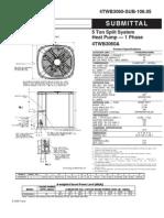 Trane 5 ton HP Cond submittat4TWB3060-SUB-106_05.05_11012009[1]
