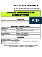 CT Cocinero Internacional