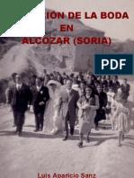 Evolucion de la boda en Alcozar (Soria)