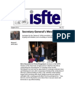 ISfTE Newsletter 08 August 2011