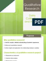 SBL FDW - Qualitative Research
