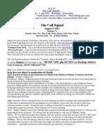 The Call Squad Transcript 8.9.11