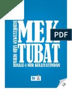 Mektubat - Risale-i Nur Külliyatı - Ebook Reader için Pdf 800x600