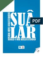Sualar - Risale-i Nur Külliyatı - Ebook Reader için Pdf 800x600