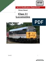 Class 31Drivers Manual Wirksworth Part 1