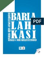 Barla Lahikası - Risale-i Nur Külliyatı - Ebook Reader için Pdf 800x600