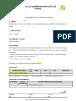 IT MUDANÇA DO SISTEMA DE PERFUSÃO DE SORO