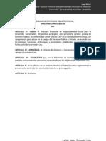 """Ley que crea el """"Instituto Provincial de Responsabilidad Social para el Desarrollo Sostenible"""" en La Rioja"""
