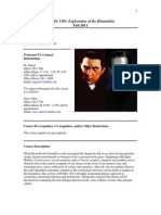 UT Dallas Syllabus for huma1301.005.11f taught by Peter Ingrao (jingrao)
